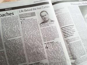 Kniha Žert v deníku Wall Street Journal