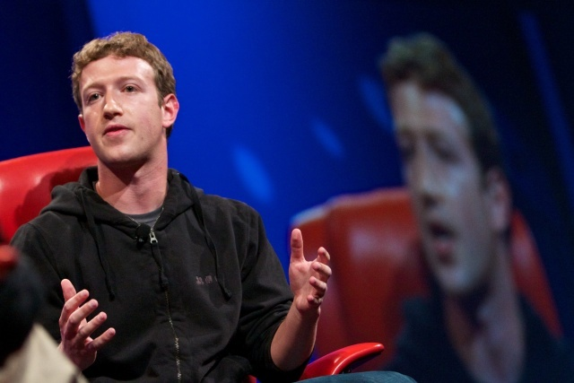 Mark Zuckerberg. Foto: Asa Mathat, All Things Digital